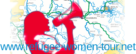 Logo - Refugee Women Tour