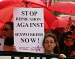 Sexarbeiter*innen-Protest