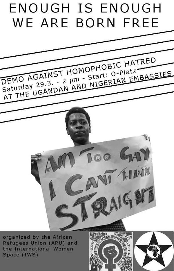 Demonstration against homophobic hatred