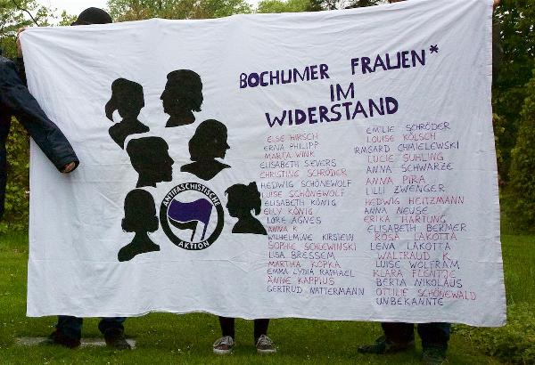 Bochumer Frauen* im Widerstand