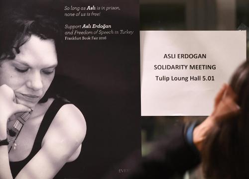 Prozess gegen die Schriftstellerin Aslı Erdoğan
