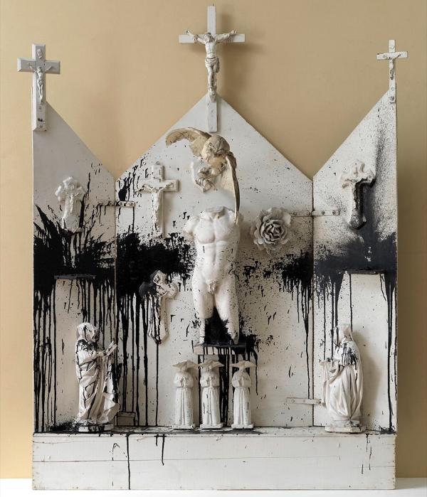 Niki de Saint Phalle: Autel Noir et Blanc