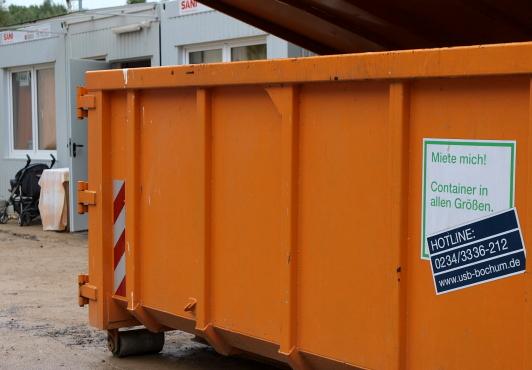Container für Geflüchtete Bochum Wohlfahrtsstraße