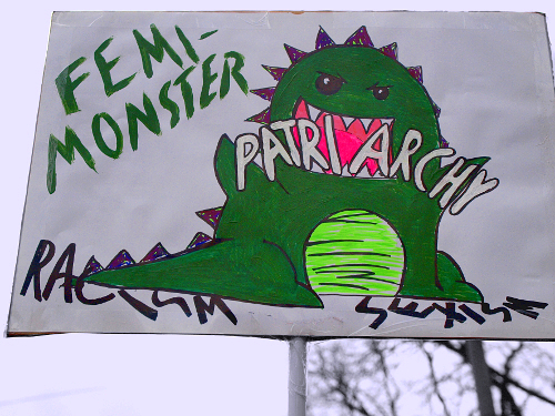 antipatriarchales Monster