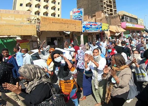 Protest im Sudan