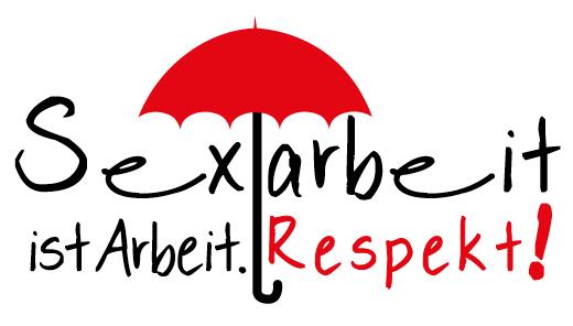 Logo: Sexarbeit ist Arbeit. Respekt!