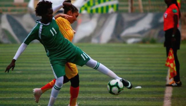 Sudans erstes Frauen*-Ligaspiel zwischen Tahadi und Difaa