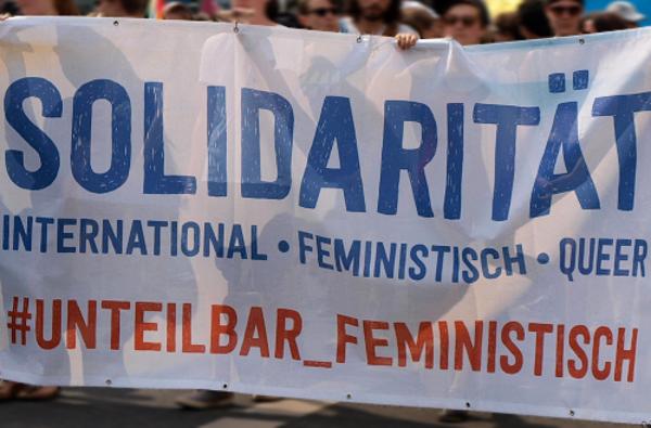 unteilbar feministisch