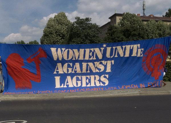 women unite against Lagers