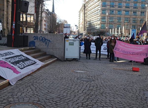 8M2021 Kundgebung Dortmund